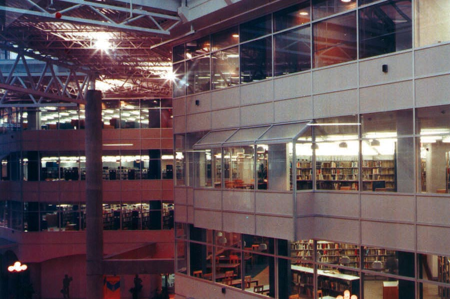 Onondaga County Central Library at the Galleries of Syracuse
